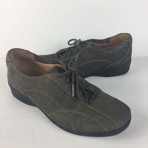 Unstructured Clarks Womens Oxfords 6.5 M Lace Up L